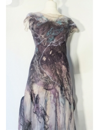 "Dress ""autumn fog"""