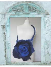 "bag ""blue flower"""