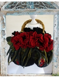 """Red poppies"" bag"
